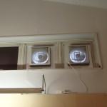 【報告】展示室に換気扇を設置しました